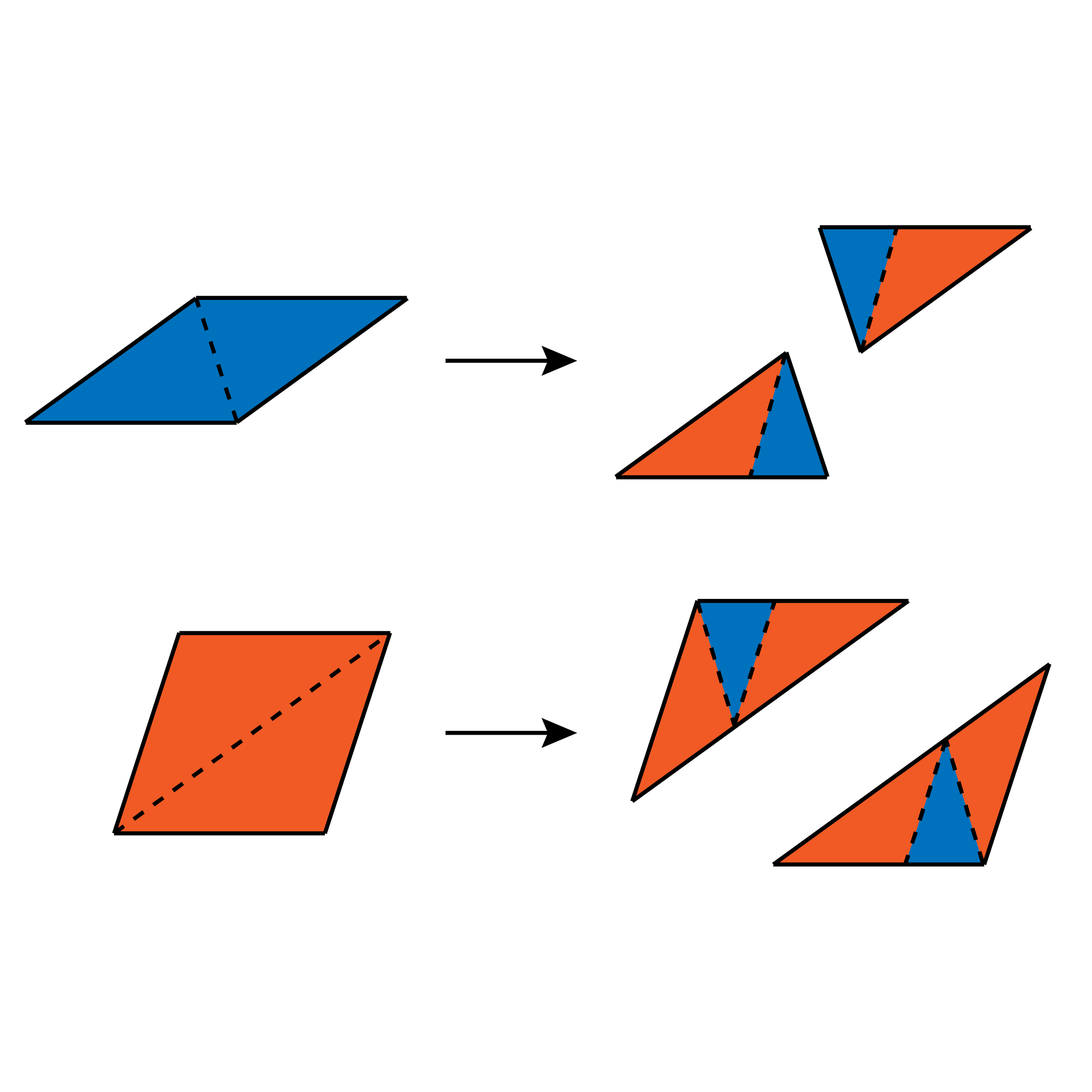 Subdivision rules in the P3 Penrose tiling generated by two rhombi built from acute and obtuse Robinson triangles